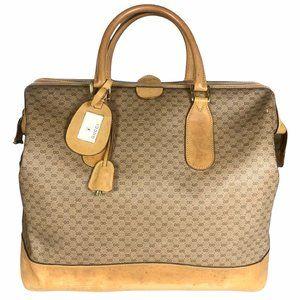 Gucci Vintage 80s Micro GG Travel Bag